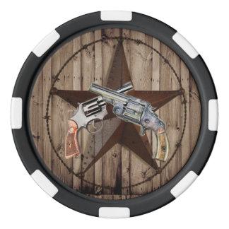 western poker chips