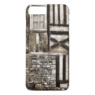 Rustic Old Wood and Stone House iPhone 7 Plus Case
