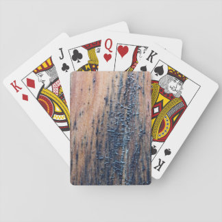Rustic Old Wood Picture. Card Decks