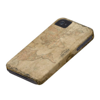 Rustic Old World Map Parchment Blackberry Case