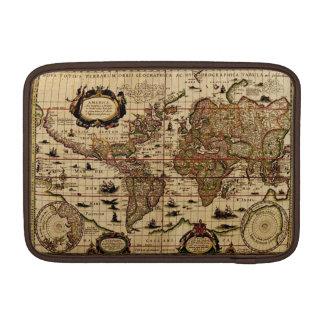 Rustic Old World Map Vintage Tablet Case Sleeve
