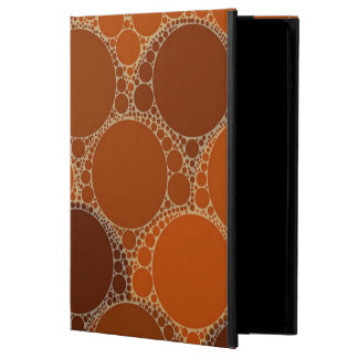 Rustic Orange Brown Circle Abstract Powis iPad Air 2 Case