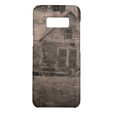 Beach Themed Rustic outdoorsmen Rural Backwoods Primitive Cabin Case-Mate Samsung Galaxy S8 Case