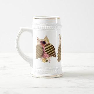 Rustic Owl Beer Stein