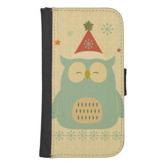 rustic owl,chrismas,pattern,trendy,cute,graphic,mo phone wallet