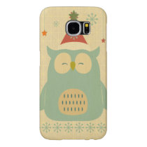 rustic owl,chrismas,pattern,trendy,cute,graphic,mo samsung galaxy s6 case