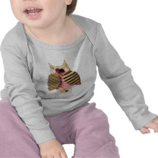 Rustic Owl T Shirts