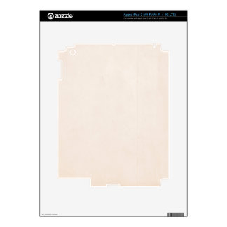 Rustic Papaya Whip Decals For iPad 3