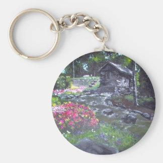 Rustic Paradise Keychain