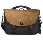 Rustic Parquet Laptop Messenger Bag