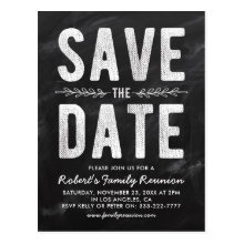 Rustic Party, Reunion or Wedding Save the Date