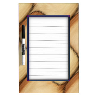 Rustic Patch Dry Erase Board