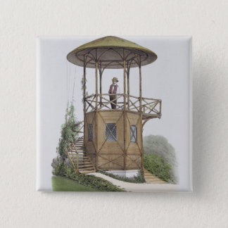 Rustic Pavilion at Marcilly, from 'Habitations Cha Button