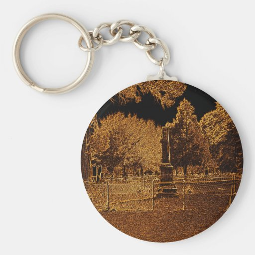 Rustic Peace Key Chains