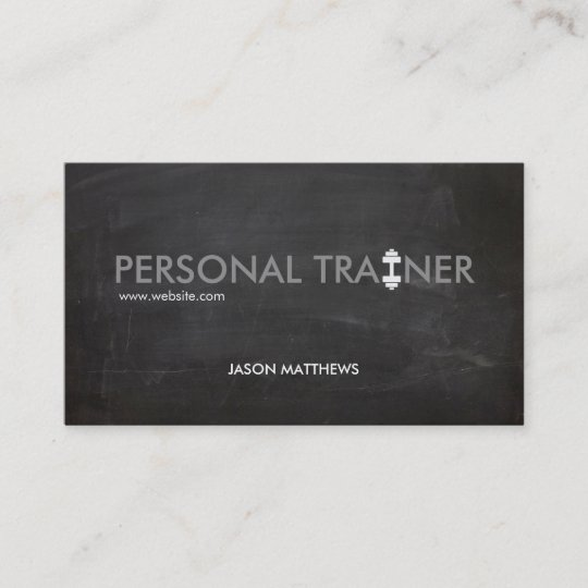 Rustic personal trainer dumbbell logo fitness business card zazzle rustic personal trainer dumbbell logo fitness business card colourmoves