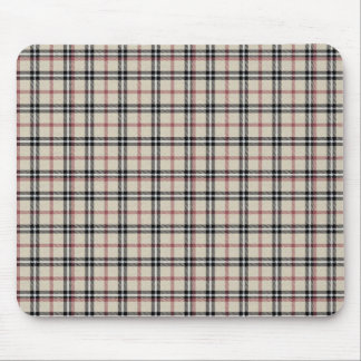 Rustic Plaid Mouse Pad