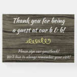 [ Thumbnail: Rustic & Plain Bed-And-Breakfast Guestbook ]