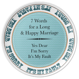 Rustic Porcelain Wedding Date Anniversary Plate Porcelain Plate