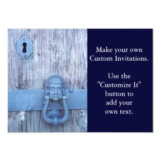 Rustic Port Entry Door Card