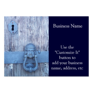 Rustic Port Entry Door Large Business Card