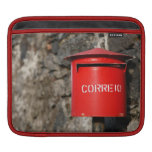 Rustic portuguese mailbox sleeves for iPads