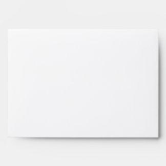 Rustic Poster: Cream & Brown Square A7 Envelopes