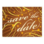 Rustic Poster: Tropical Sun Save the Date Post Card