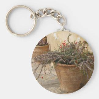 Rustic Pots Keychain