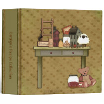 Rustic Prim Things Binder