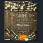 "Rustic Pumpkin Fall Baby Shower Invitation<br><div class=""desc"">Rustic Pumpkin Fall Baby Shower Invitation</div>"