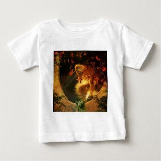 Rustic raccoon fall design baby T-Shirt
