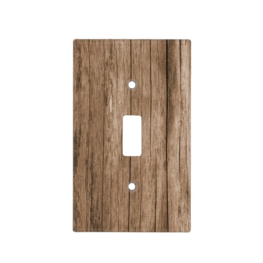 Octopus Distressed Wood Light Switch Plate Wall Cover Tropical Decor