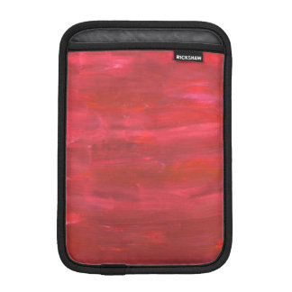 Rustic Red Abstract Sleeve For iPad Mini