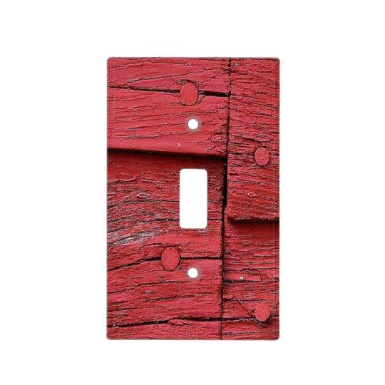 red barn light white farmhouse rustic red barn light switch cover zazzlecom
