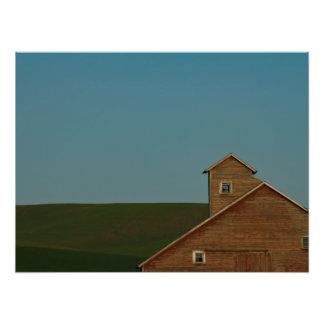Rustic Red Barn Art Photo