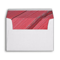 Rustic Red Barn Wood Envelope