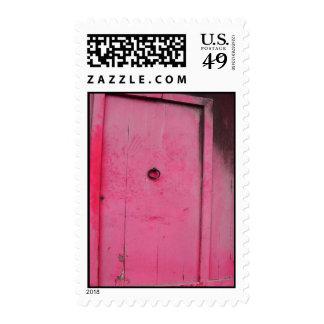 Rustic Red Door Postage