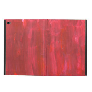 Rustic Red Watercolor Abstract Painting Powis iPad Air 2 Case