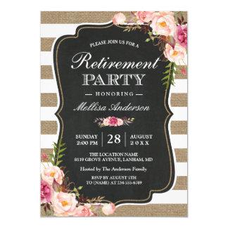 Retirement party invitation card leoncapers retirement party invitation card stopboris Images