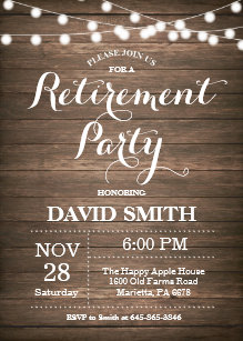 retirement party invitations zazzle