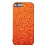 Rustic Rigid Tough Wall Orange Color Royal iPhone 6 Case