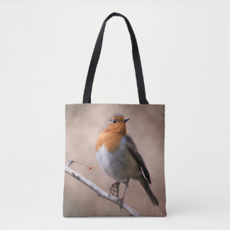 Rustic Robin All-Over-Print Bag