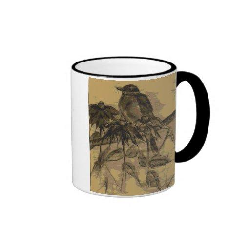 Rustic Robin Ringer Mug