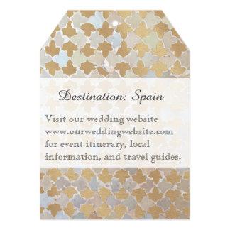 Rustic Romance | Destination Wedding | Mosaic Card
