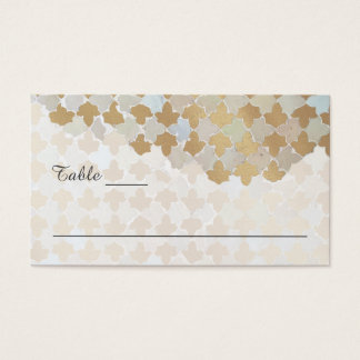 Rustic Romance Wedding | Name Cards & Tips on Back