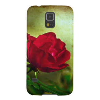 Rustic Romatic Rose Galaxy S5 Case