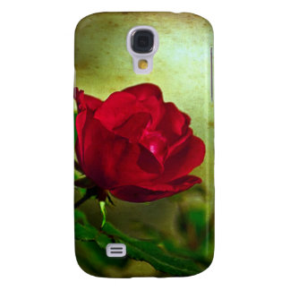 Rustic Romatic Rose Galaxy S4 Covers
