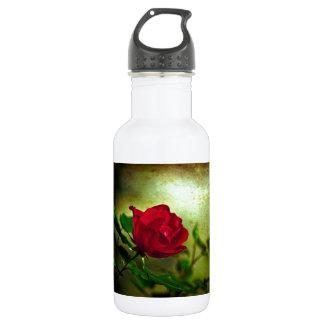 Rustic Romatic Rose 18oz Water Bottle