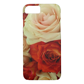 Rustic Rose Bouquet-iPhone 7 Case