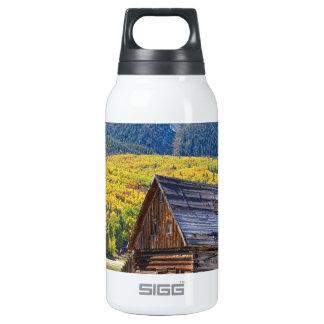 Rustic Rural Colorado Cabin Autumn Landscape SIGG Thermo 0.3L Insulated Bottle